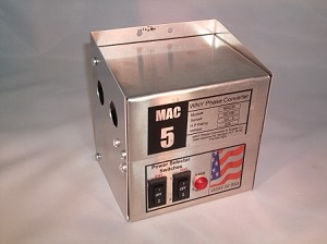 3/4 - 5Hp HD MAC Static phase converter