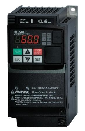 1/2 Hp Hitachi Three Phase VFD 200-230vac Input/Output