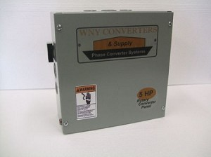 5Hp Rotary phase converter control panel 230vac
