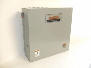 20Hp Rotary phase converter control panel 230vac