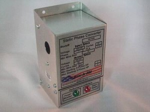 3 - 5 HP HD SCX Static Phase Converter