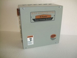 15Hp Rotary phase converter control panel 230vac